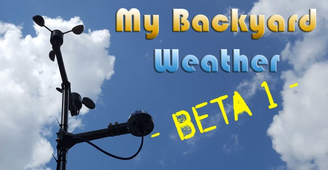 My Backyard Weather beta1