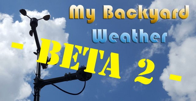 My Backyard Weather beta 2